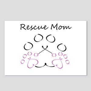 Rescue Mom Postcards (Package of 8)