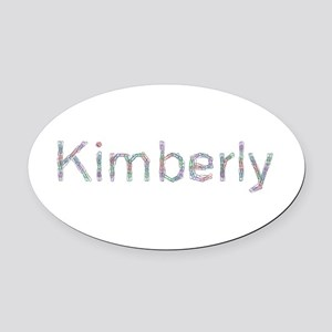 Kimberly Paper Clips Oval Car Magnet