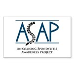 ASAP Sticker (Rectangle 10 pk)