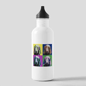 Weimaraner a la Warhol Stainless Water Bottle 1.0L