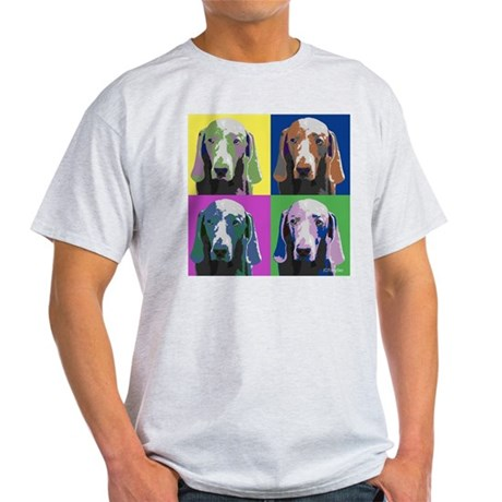 Weimaraner a la Warhol Light T-Shirt