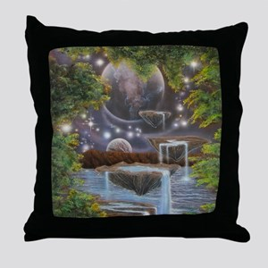 Cosmic Landscape Throw Pillow