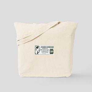 Obama The foodstamp president Tote Bag