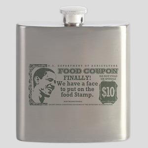 Obama The foodstamp president Flask