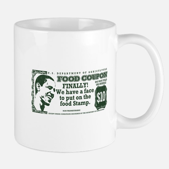 Obama The foodstamp president Mug