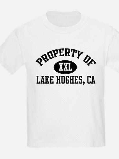 Property of LAKE HUGHES Kids T-Shirt