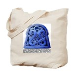 Ardre Parish Church Runestone Tote Bag