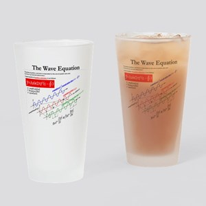 The Wave Equation Drinking Glass