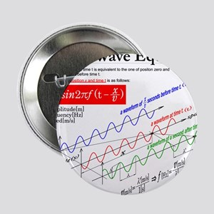 """The Wave Equation 2.25"""" Button"""