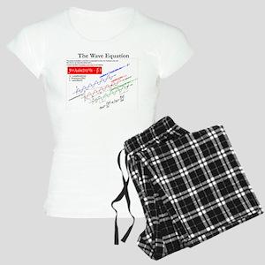 The Wave Equation Women's Light Pajamas