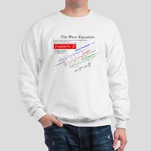 The Wave Equation Sweatshirt