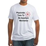 Physicists Train To Be Quantum Mechanics Fitted T-
