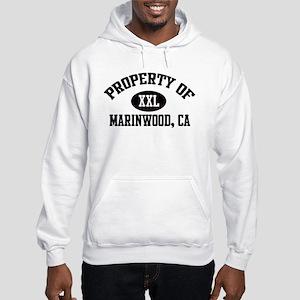 Property of MARINWOOD Hooded Sweatshirt