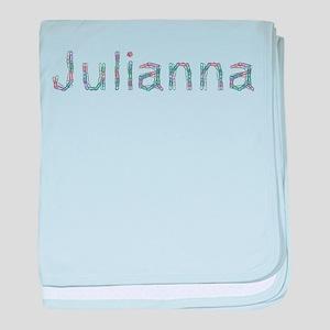 Julianna Paper Clips baby blanket