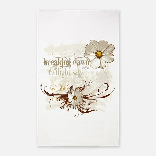 Breaking Dawn Floral 3'x5' Area Rug
