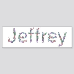 Jeffrey Paper Clips Bumper Sticker
