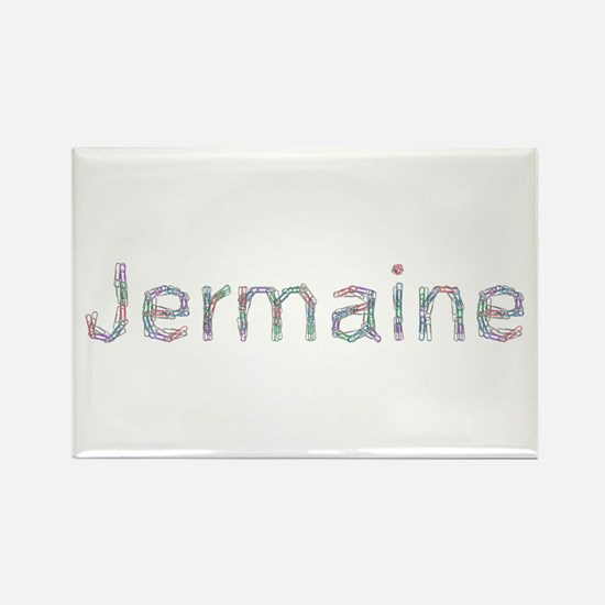 Jermaine Paper Clips Rectangle Magnet