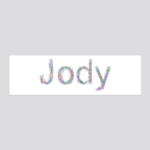 Jody Paper Clips 36x11 Wall Peel