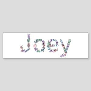 Joey Paper Clips Bumper Sticker