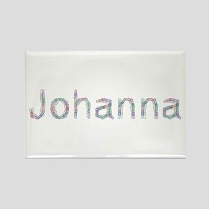 Johanna Paper Clips Rectangle Magnet
