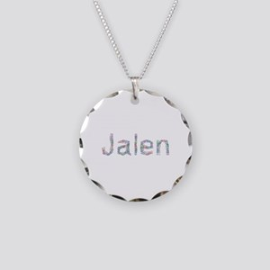Jalen Paper Clips Necklace Circle Charm