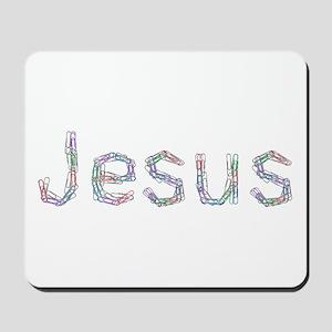 Jesus Paper Clips Mousepad