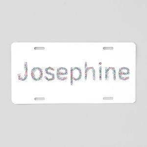 Josephine Paper Clips Aluminum License Plate