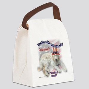 Yankee Goldendoodle Canvas Lunch Bag