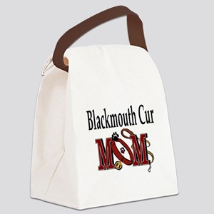1aablackmouth cur Canvas Lunch Bag