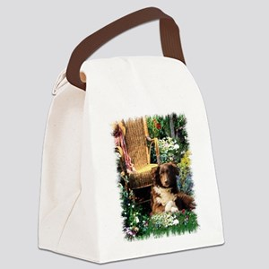 garden aussie 5 Canvas Lunch Bag