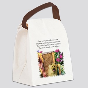 cairn garden edged redo Canvas Lunch Bag