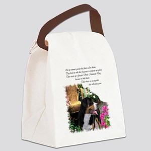 garden swissy 3 Canvas Lunch Bag