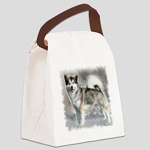 Alaskan Malamute Art Canvas Lunch Bag