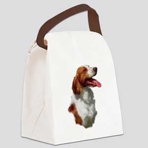 brittany art square Canvas Lunch Bag