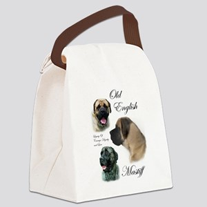 mastiff trio brushed 3 Canvas Lunch Bag