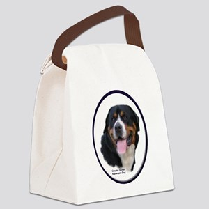 Greater Swiss Mtn Dog Canvas Lunch Bag