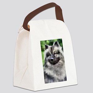Keeshond Art Canvas Lunch Bag