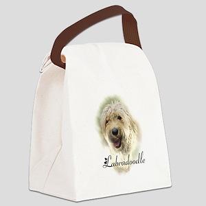 Labradoodle Art Canvas Lunch Bag