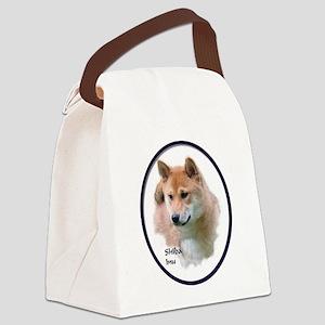 Shiba Inu Art Canvas Lunch Bag