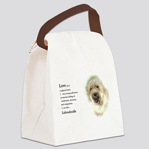 Labradoodle Love 1 Canvas Lunch Bag