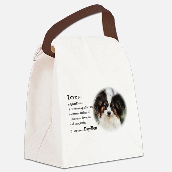 Papillon Gifts Canvas Lunch Bag