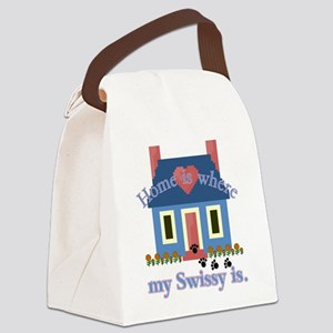 greater swiss home is Canvas Lunch Bag