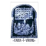 Fara í Víking Postcards (Package of 8)