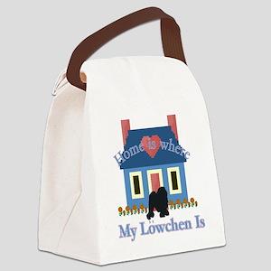Lowchen Canvas Lunch Bag