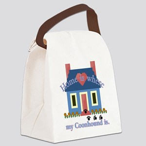 coonhound is Canvas Lunch Bag