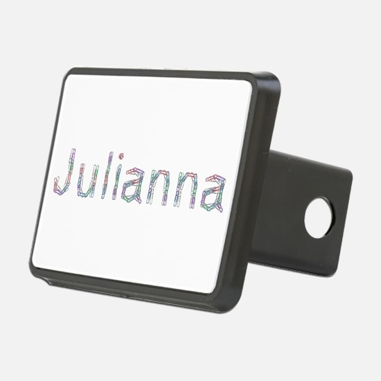 Julianna Paper Clips Hitch Cover