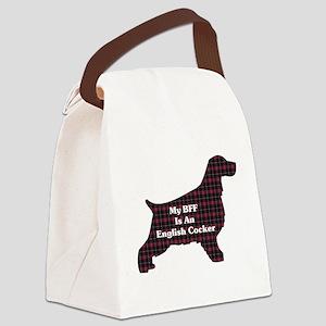 BFF English Cocker Canvas Lunch Bag