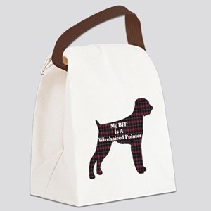 BFF Wirehaired Pointer Canvas Lunch Bag