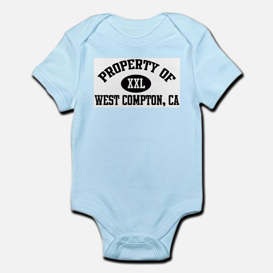 Property of WEST COMPTON Infant Creeper