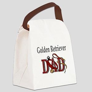 Golden Retriever ADJ Canvas Lunch Bag